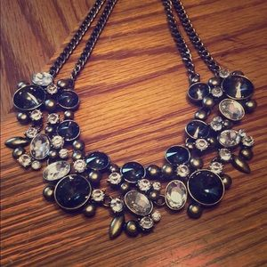 The Limited Necklace Chain Diamond Grey Gems